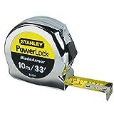 Stanley Powerlock Tape Measure 10m / 33'