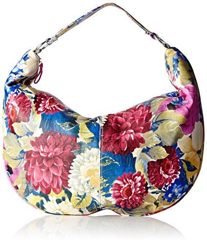 Paquetage Maxi, Borsa a spalla, Multicolore (059/Fleurs), taglia unica