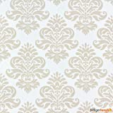 Retro Barock Lounge Tapete 266900 beige creme