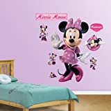 Amazing Disney Mickey Mouse and Friends Minnie Mouse Wall Decals by Fathead