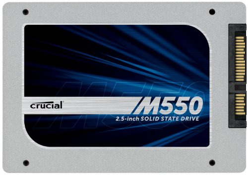 Crucial M550 2.5インチ内蔵型 SATA 6Gbps 128GB CT128M550SSD1