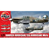 Airfix A02096 Hawker Hurricane/ Sea Hurricane MkIIc 1:72 Scale Series 2 Plastic Model Kitby Airfix World War II...