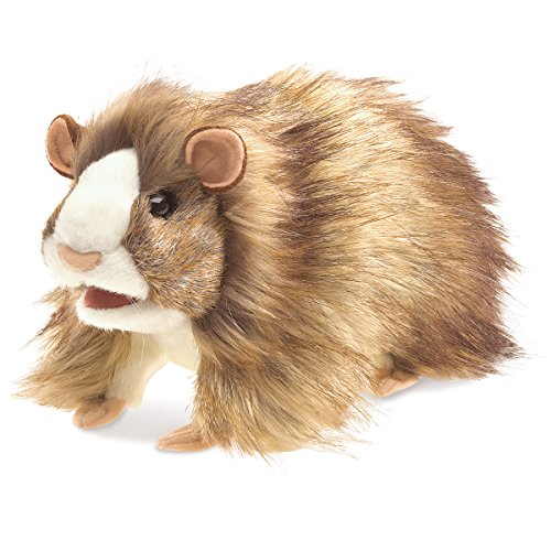 Folkmanis Guinea Pig Hand Puppet Plush