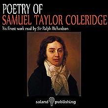 Poetry of Coleridge | Livre audio Auteur(s) : Samuel Taylor Coleridge Narrateur(s) : Ralph Richardson