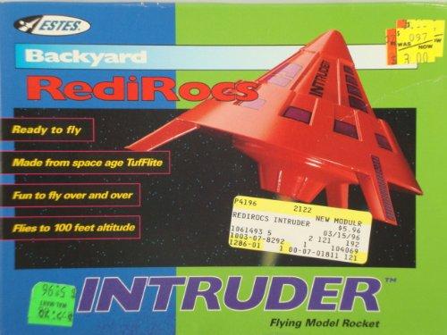 #2122 Estes Backyard RediRocs Intruder Flying Model Rocket