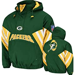 Mitchell & Ness Green Bay Packers Flashback Jacket by Mitchell & Ness