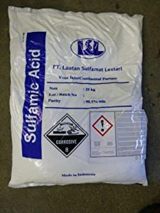 Amidosulfonsäure   Sulfaminsäure krist 25kg  BaumarktKundenbewertung und weitere Informationen