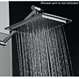 AKDY AZ-6021 Bathroom Chrome Shower Head, 8""