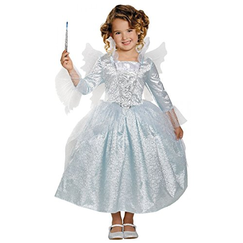 [GSG Deluxe Fairy Godmother Costume Kids Cinderella Halloween Fancy Dress] (Fairy Godmother Costume Toddler)