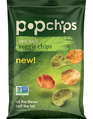 Popchips Veggie Chips, Sea Salt, 3 Ounce (Sea Salt Popchips compare prices)