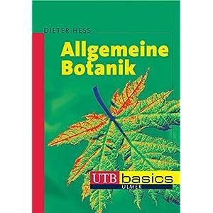 Allgemeine Botanik (utb basics, Band 2487)