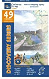 Ordnance Survey Ireland Discovery 49 Kildare Meath Offaly Westmeath (Irish Discovery Series)