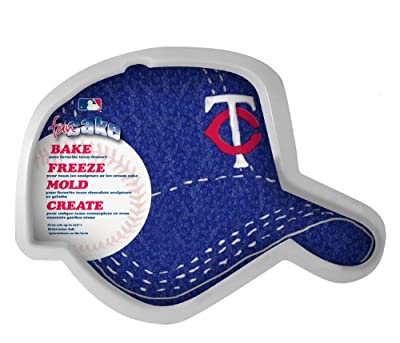 MLB Minnesota Twins Fan Cakes Heat Resistant CPET Plastic Cake Pan