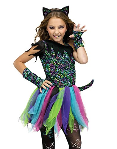 Fun World Child Wild Rainbow Cat Costume