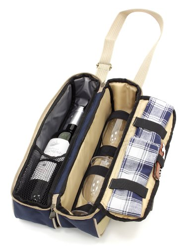 Greenfield Collection Luxury Picnic Wine Cooler