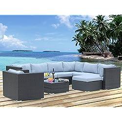 Hansson Sports Lounge, 1G103A, Gartenmöbel, schwarz, 75 x 65 x 64 cm