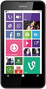 Nokia Lumia 635 - black - 4G LTE - 8 GB - GSM - Windows Phone