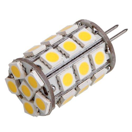 Olymstore(Tm) G4 12V 4W 3000K 27Led 400Lm Smd5050 Warm White Led Light Corn Light Bulb Lamp