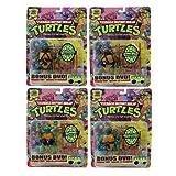 TMNT Teenage Mutant Ninja Turtles 25th Anniversary Wave1 ニンジャ・タートルズ 25周年アクションフィギュア シリーズ1 全8種セット