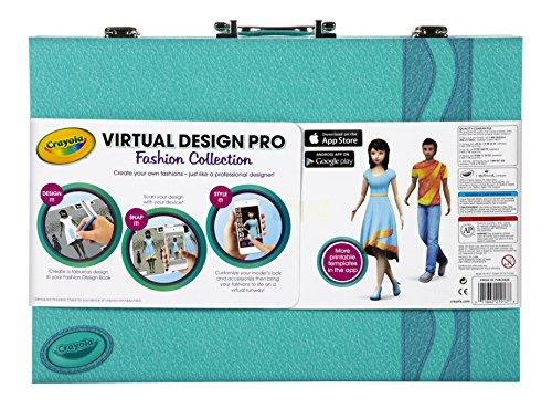 Crayola Virtual Design Pro Fashion Set Toys Games Toys