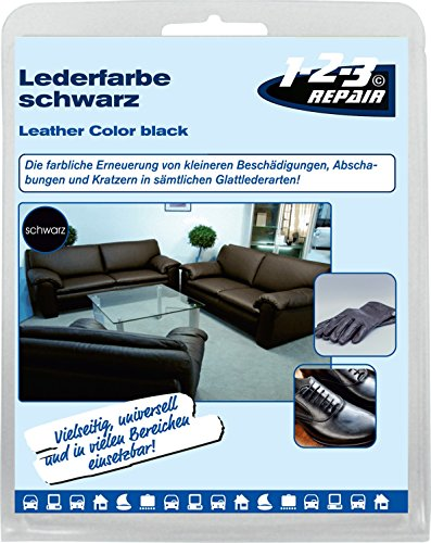 lederfarbe kunstleder farbe schwarz mit schwamm m bel bekleidung jacke schuhe 50 ml. Black Bedroom Furniture Sets. Home Design Ideas