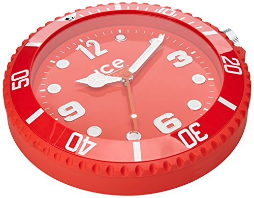 Ice-Watch Unisex-Wanduhr Wall Clock Orange Analog Quarz IWF.OE
