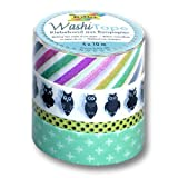 Folia - Set de rollos de cinta adhesiva de papel de arroz