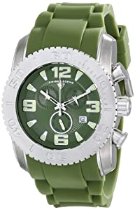 Swiss Legend Men's 10067-017 Commander Analog Display Swiss Quartz Green Watch