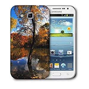 Snoogg Small Lake In Forest Printed Protective Phone Back Case Cover For Samsung Galaxy Samsung Galaxy Win I8550 / S IIIIII