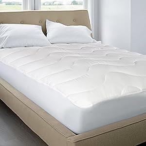 Amazon 200 Thread Count Cotton Top Mattress Pad Multi