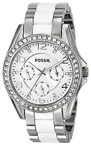"""Fossil Women's ES3526 """"Riley"""" Stainless Steel Bracelet Watch"""