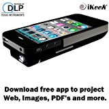 Apple Iphone4 4s DLP Pocket Projector, 2100mAh External Power