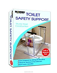 Deluxe Toilet Safety Support, Deluxe Toilet Safety Suppor, (1 EACH, 1 EACH)