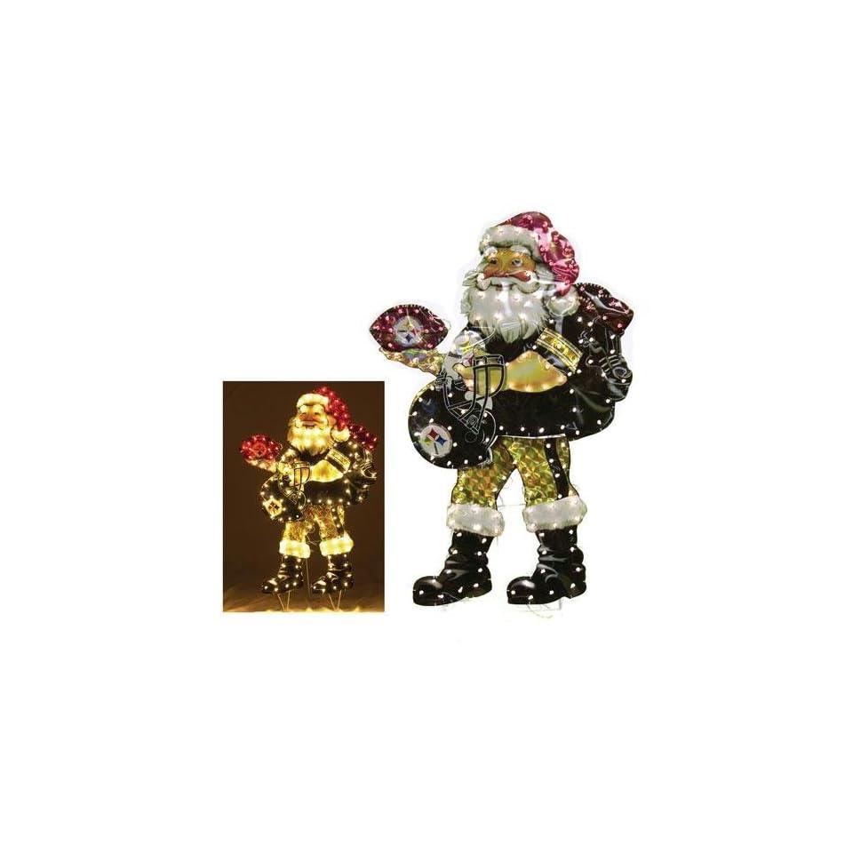 Pittsburgh Steelers Santa Lawn Figure on PopScreen c7e8013db
