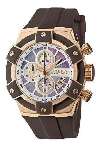 Brera Orologi Federica Brown K1 Mineral Quartz Watch