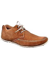 Aureno Men's Suede Sneakers - B011BGUAZQ