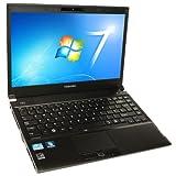 Toshiba Portege R830-138 13.3 inch Laptop - Black (Intel Core i5 2520M 2.5GHz, RAM 4GB, HDD 500GB, DVD SuperMulti, LAN, WLAN, WWAN, BT, Windows 7 Professional 64 Bit)