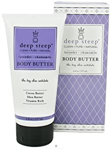 Deep Steep Body Butter Lavender Chamomile - 6 Fl Oz