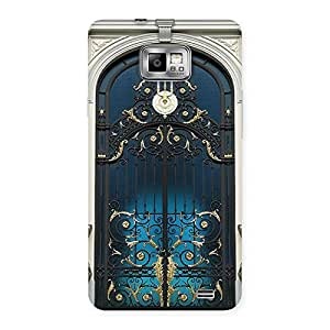 Gorgeous Royal Door Print Back Case Cover for Galaxy S2
