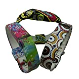 3PC&SMT the Latest Design Style 100% Anti-lost Replacement Wrist Band for Fitbit Flex Large Size Colorful paintings,Colorful Phoenix and Annual ring