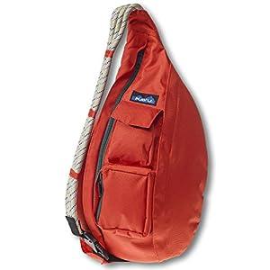 KAVU Rope Sling Bag, Orange, One Size