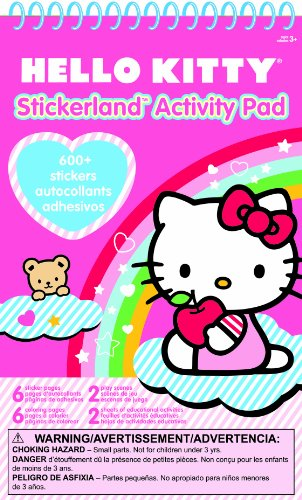 Hello Kitty Stickerland Activity Pad
