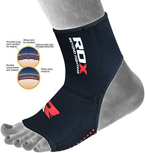 Authentic RDX Pro Neoprene Ankle Foot Brace Support Pad Guard (SINGLE ITEM)