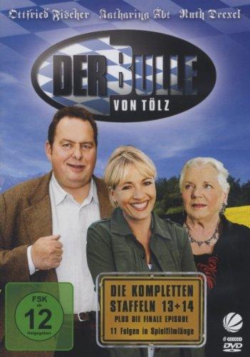 Der Bulle von Tölz - Die kompletten Staffeln 13 + 14 plus die finale Episode [6 DVDs]