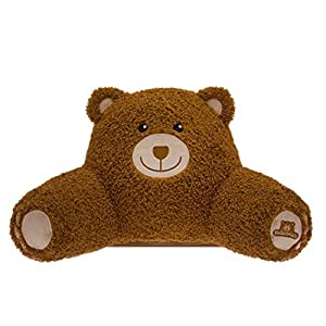 Relaximals Brown Bear Kids Reading Pillow -