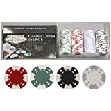 100 11.5 gram Poker Chips in Welcome to Las Vegas Gift Box; Choose from Several Designs