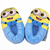 Despicable Me Plush Stuffed Two Eye Doll Soft Toy Figure Minion Slipper Shoes