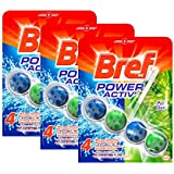 Bref Bloc Nettoyant WC Power Activ Pin 50 g - Lot de 3