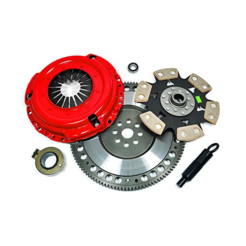 EFORTISSIMO STAGE 4 CLUTCH KIT+CHROMOLY FLYWHEEL for NISSAN SKYLINE GTR GTS R31 R32 R33 (Stage 4 Clutch Kit R33 compare prices)