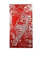 Natural History Gifts Toalla Playa Lux Mod 90 (Rojo)